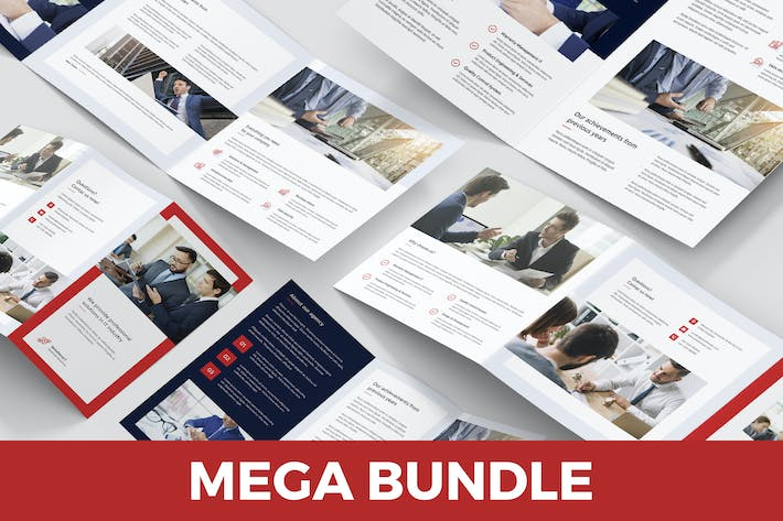 Thumbnail for IT Solutions – Brochures Bundle 5 in 1