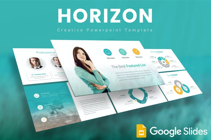 Thumbnail for Horizon Google Slides Template