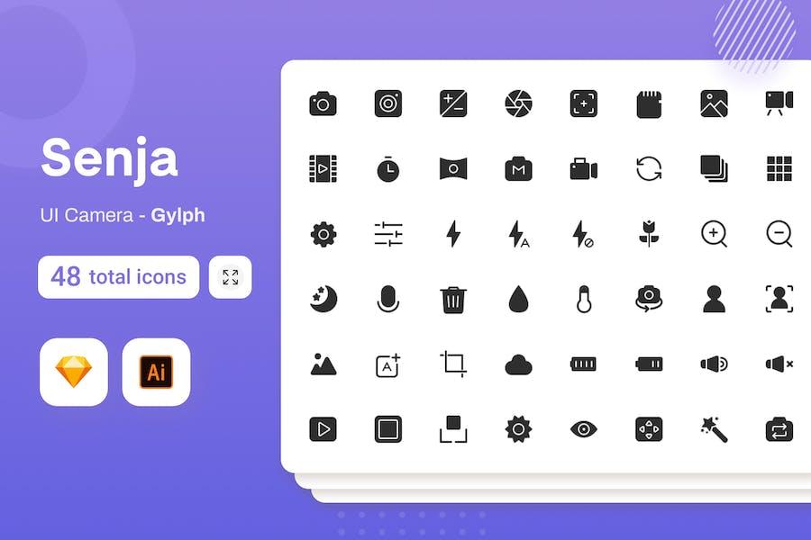 Gylph Senja - UI Camera