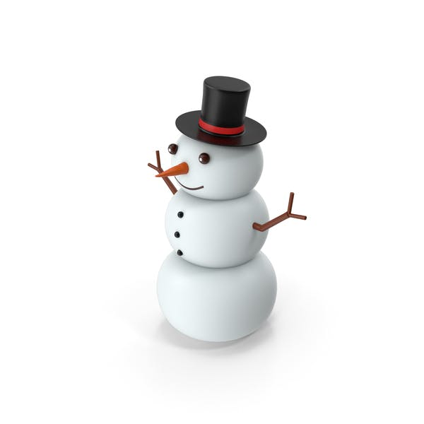 Thumbnail for Cartoon Snow Man