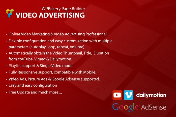 Video Advertising Addon For WPBakery Page Builder