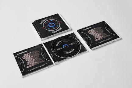 DJ Mix / Album / Single CD Cover Artwork