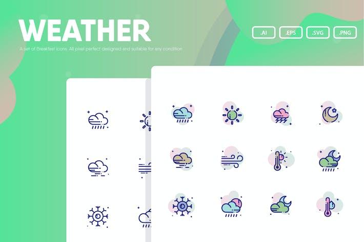 Wetter-Symbol Pack
