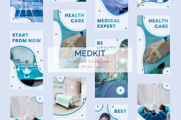 Thumbnail for Medkit - Instagram Story Pack
