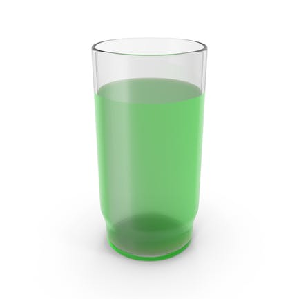 Glass With Green Juice