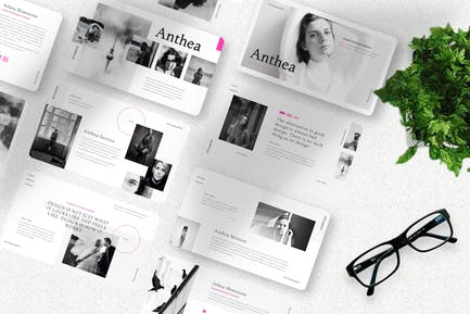 Anthea  - Influencer Keynote Template