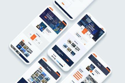 Industing - Industry & Factory Business Template