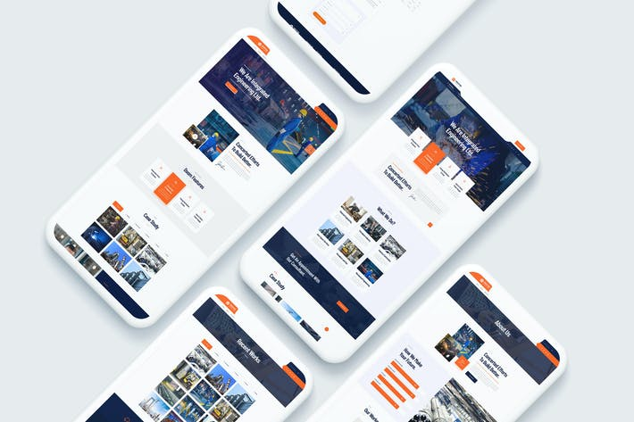 Thumbnail for Industing - Industry & Factory Business Template