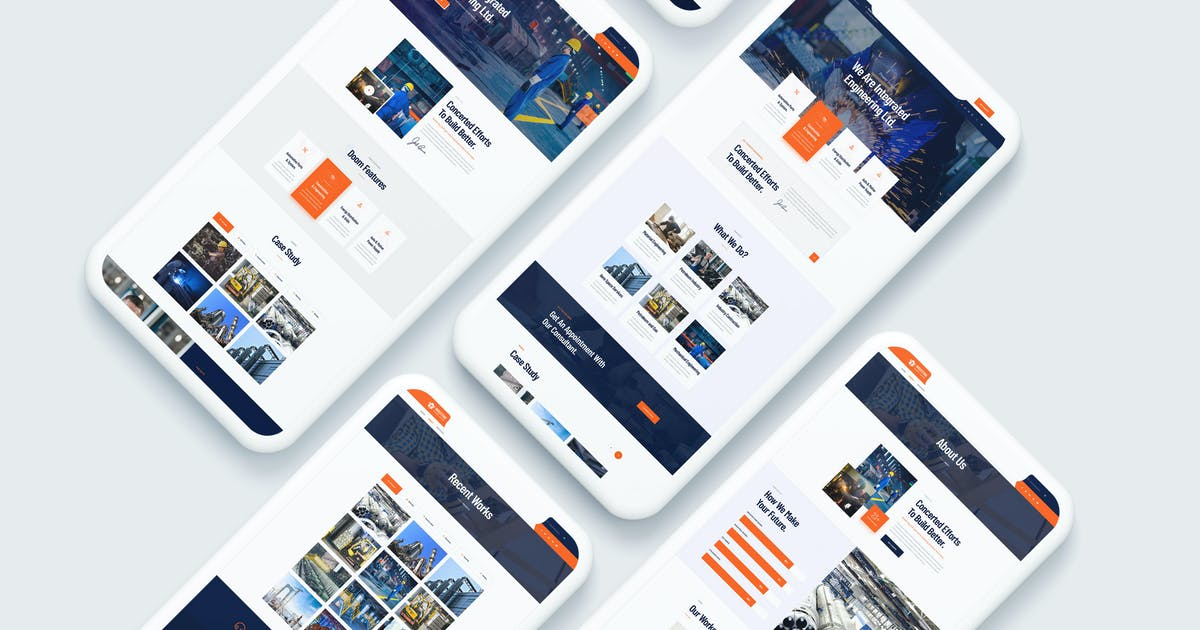 Download Industing - Industry & Factory Business Template by themewar