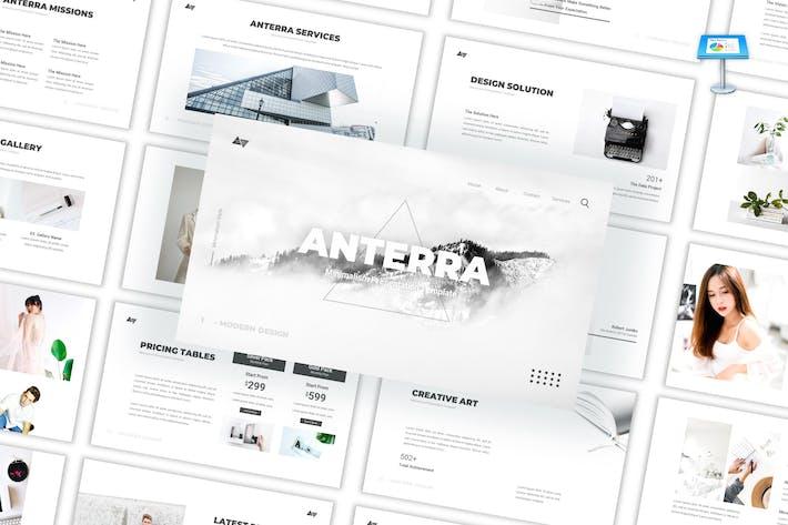 Thumbnail for Anterra - Шаблон Keynote минимализма