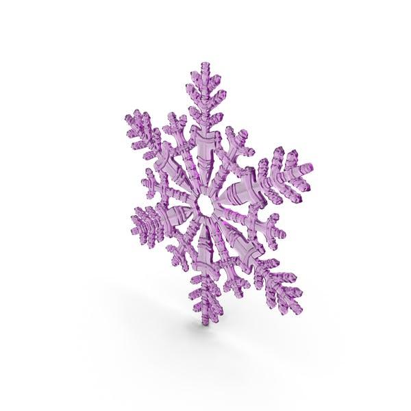 Снежинка Роза
