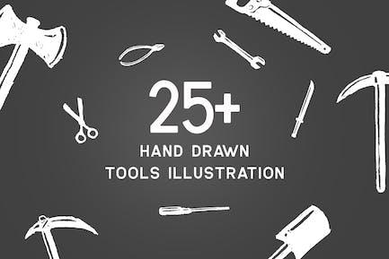 Werkzeuge Vektor illustration