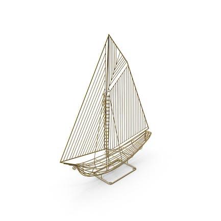 Yacht Ship Sculpture