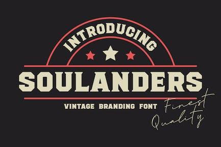 Soulanders - Fuentes Vintage Bold