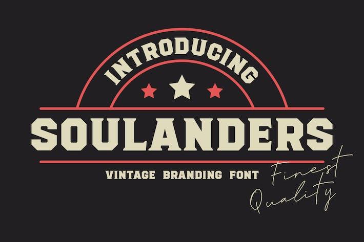 Thumbnail for Soulanders - Fuentes Vintage Bold