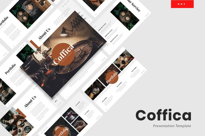 Thumbnail for Coffica - Coffee Lovers Powerpoint Template