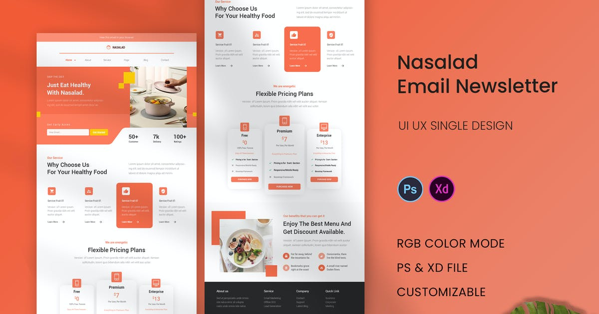 Download Nasalad Email Newsletter by karkunstudio
