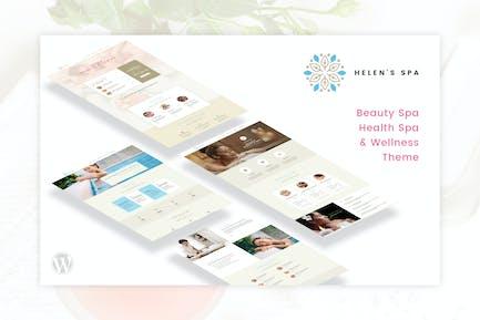Helen's Spa - Beauty, Health Spa & Wellness Theme