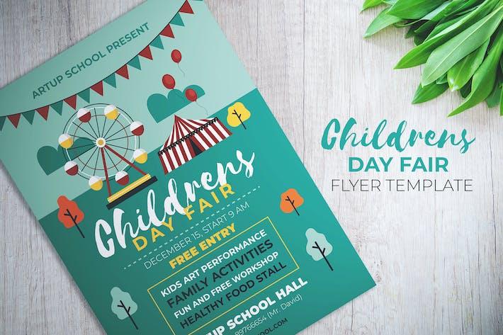 Thumbnail for dépliant oire de la Journée des enfants