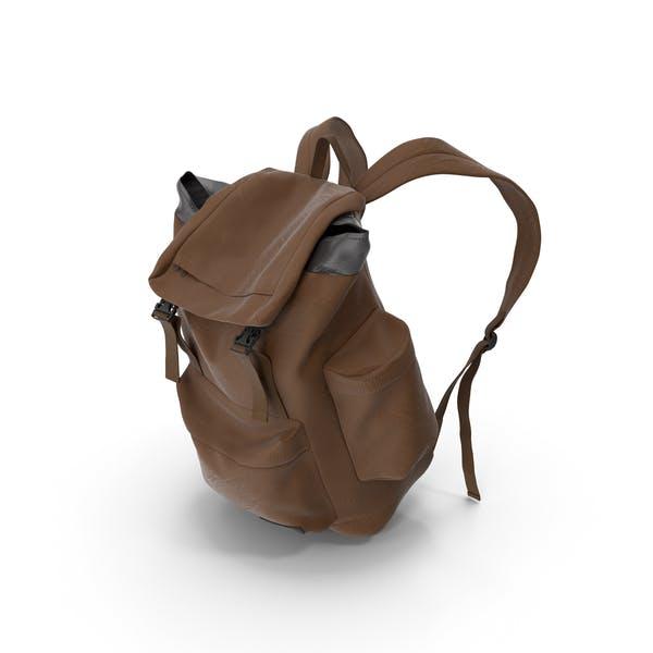 Mens Backpack Brown