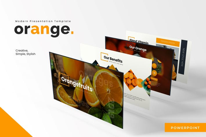 Thumbnail for Oranges - Powerpoint Template