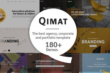 Qimat - multipurpose HTML5 Theme