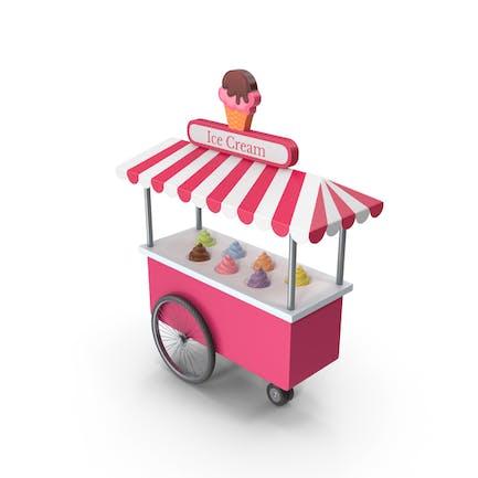 Eiscreme-Zelt