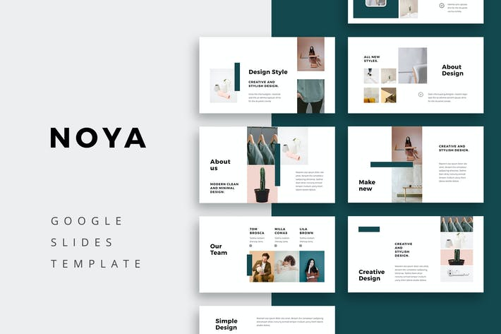 Thumbnail for NOYA - Google Slides Template