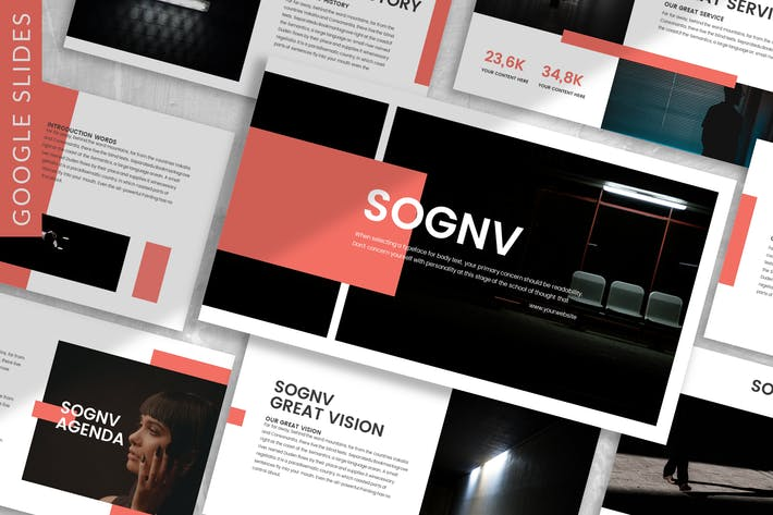 Thumbnail for Sognv - Business Google Slide Template