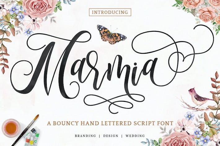Thumbnail for Marmia - Современный шрифт