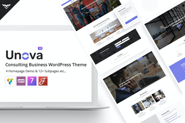 Thumbnail for Unova - Consulting Business WordPress Theme