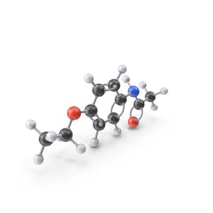Phenacetin Molecule
