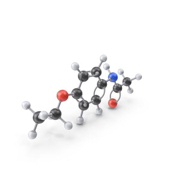 Thumbnail for Phenacetin Molecule