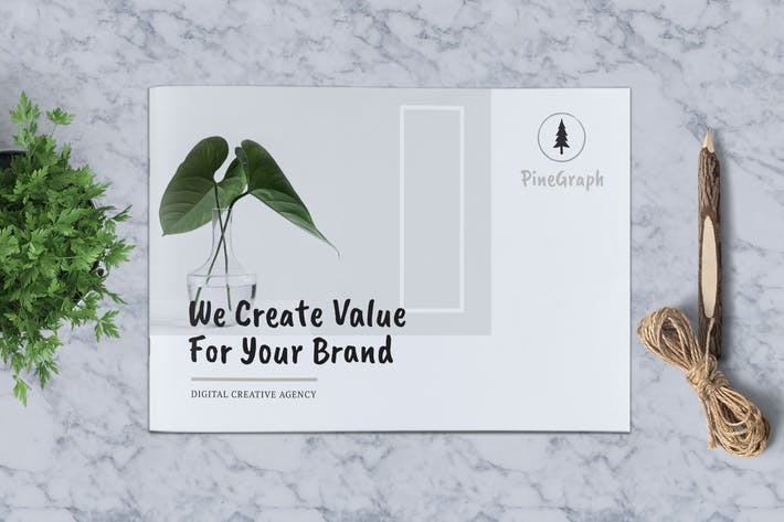 Cover Image For Business Brochure Template Vol. 05