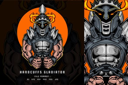 Handschellen Gladiator