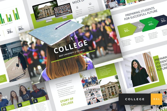 Thumbnail for College - University Google Slides Template