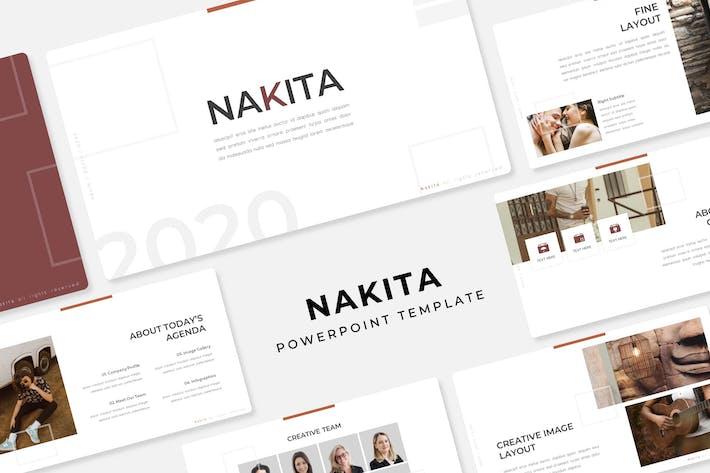 Thumbnail for Nakita - PowerPoint Template