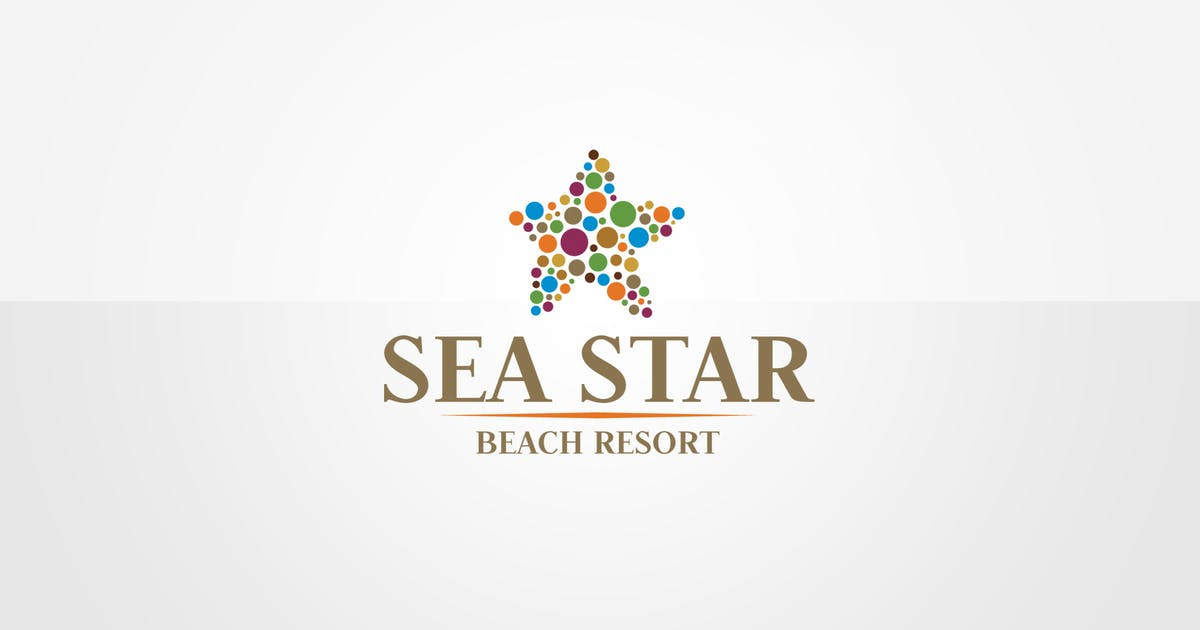 Download Sea Star Logo Template by floringheorghe