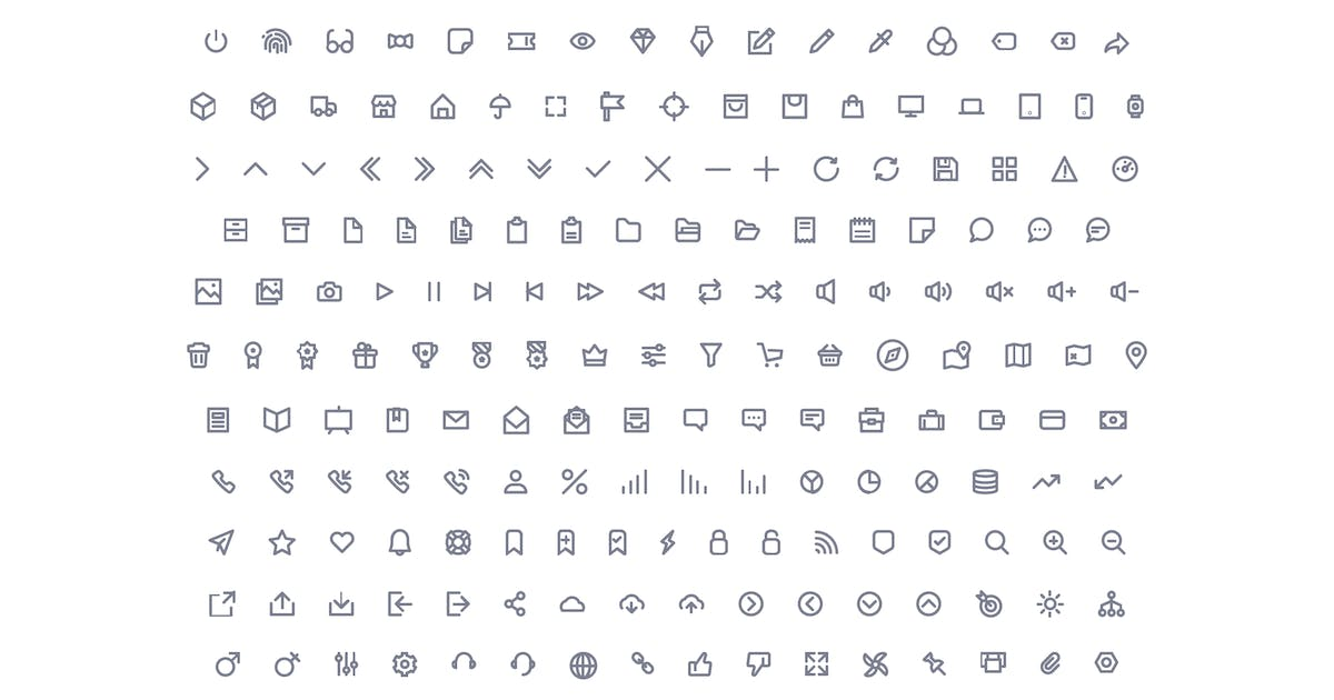 Download Vector Icons Set by Unknow