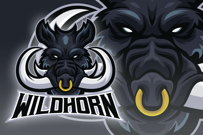 Thumbnail for Big Horn Hog Esport Logo