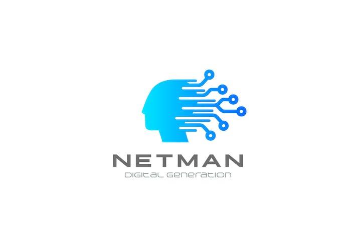 Thumbnail for Logo Künstliche Intelligenz Generation Chipkopf