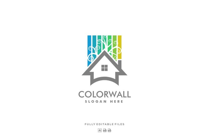 Thumbnail for House Color Line Logo