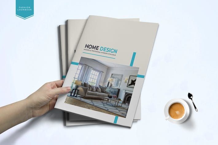 Cover Image For Interior catalog Template