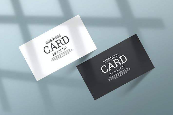Creative Minimal business card mockup