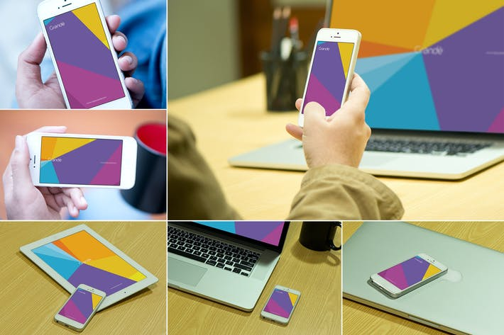 Thumbnail for iOS Devices Mockups