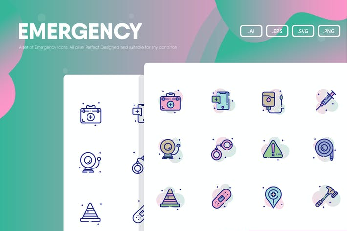 Emergency Icon Pack