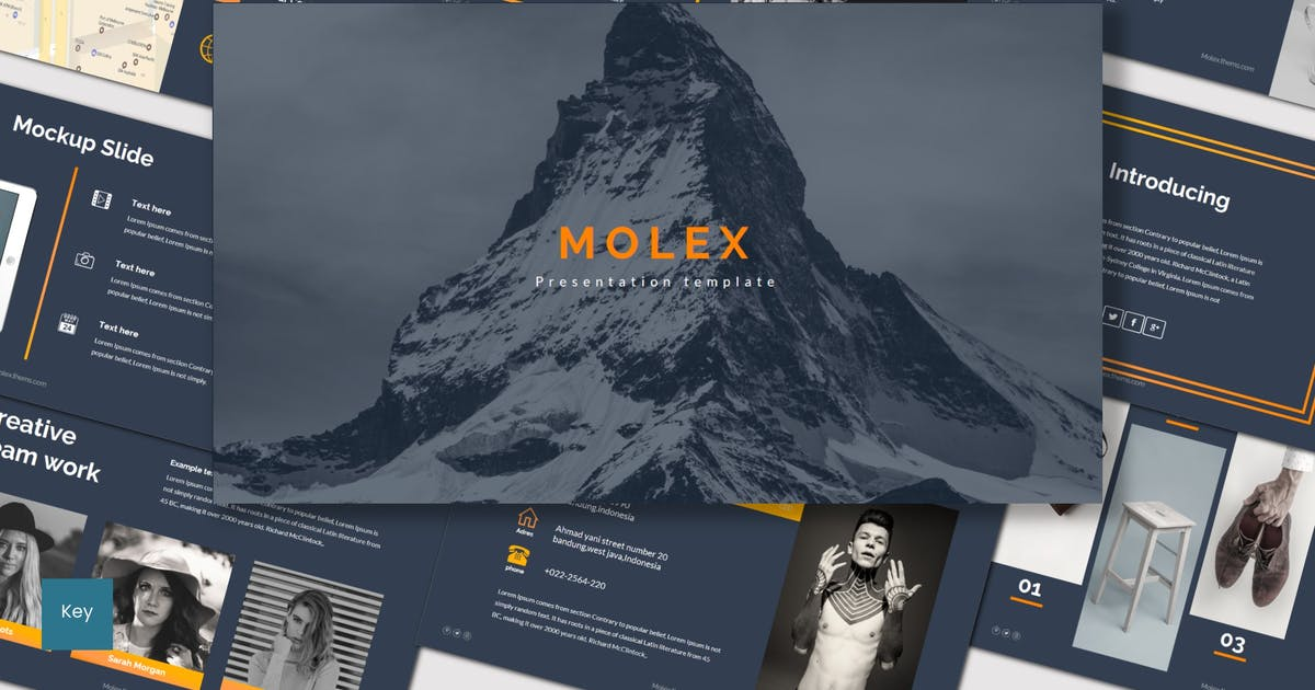 Download Molex - Keynote Template by inspirasign