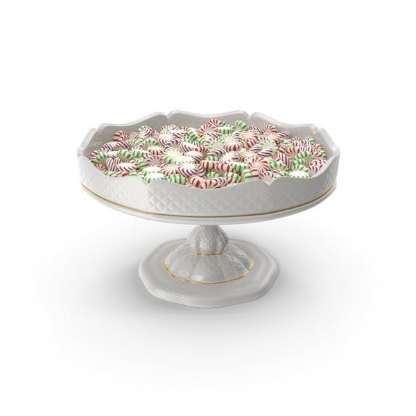 Необычные фарфоровые чаши с мятой Starlight конфеты