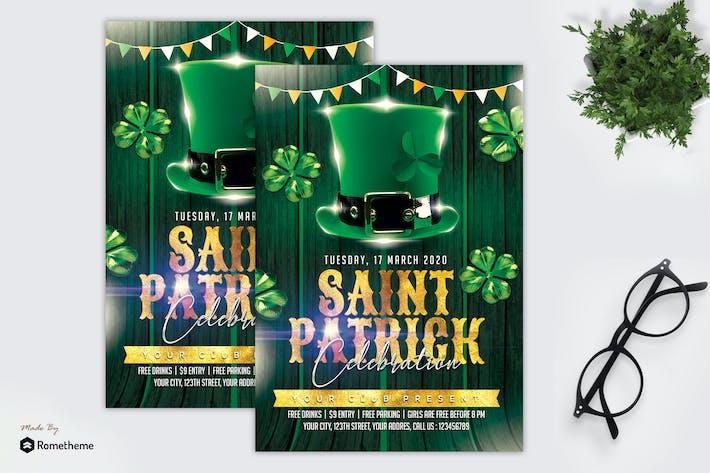 Thumbnail for Saint Patrick Day - Flyer MR