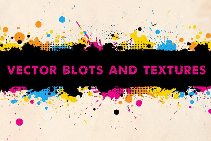 Cover Image For Vector Blots and Textures